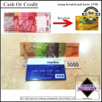 Cash Or Credit - Art - Alat Sulap