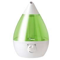 Crane USA - Green and White Drop Cool Mist Humidifier
