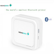 Memobird Smart Mini Printer Thermal Bluetooth - G3 - White/Blue
