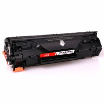 Replacement Printer Toner Cartridge HP 283A 283E Black Face - Black