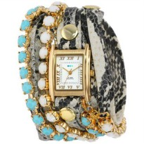 [poledit] La Mer Collections Women`s LMMULTI5003 Chandelier Crystal Chain Collection Colet/9641511