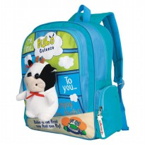 Catenzo Junior Tas Anak - Cow - Biru CSTx272 Bubo