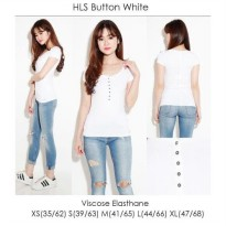 [BLOUSE] HOLLISTER BUTTON BLOUSE BRANDED