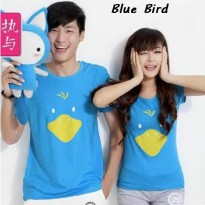 Kaos Couple Termurah | Pusat Baju Couple | Blue Bird