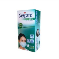 3M Nexcare Daily (Earloop) Mask (Masker), 36 pieces / box