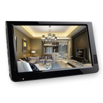 Portable TV Monitor 10 Inch DVB-T2 + Analog - D10 - Black
