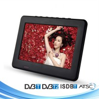 Portable TV Monitor 9 Inch DVB-T2 + Analog - D9 - Black