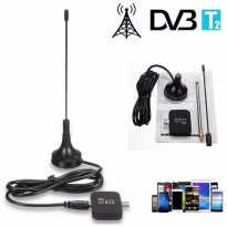 TV Tuner DVB-T2 Dongle for Android Smartphone - Black