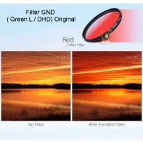 Filter Graduated Red ( Green L / DHD) Original 58 mm