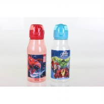 BOTOL MINUM TRANSPARAN WATER BOTTLE AVANGER BIG HERO BT-L8001