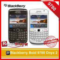 BLACKBERRY Bold 9780 Onyx 2 Garansi 1thn Original 100% ( Black , White )