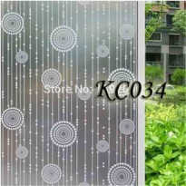 KC034 DOT TO DOT 45CMX5M SANDBLAST STICKER KACA SUNBLAST