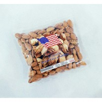 KACANG ALMOND KUPAS ( TANPA CANGKANG ) 250gr / Roasted Almond ORIGINAL USA-CALIFORNIA