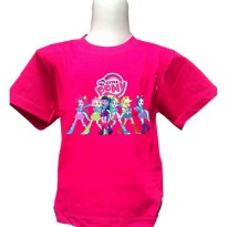 [KAOS] KAOS MY LITTLE PONY EQUESTRIA GIRL (2) UKURAN DEWASA S - XL