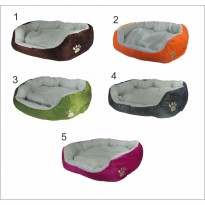 Pet bed, kasur kucing bahan wool katun
