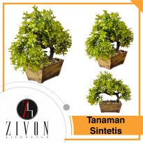 Tanaman Sintetis Palsu Bonsai Synthetic Fake Flower Plant YZB4