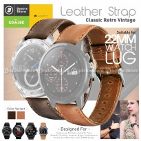 V2 Leather Strap 22MM XIAOMI AMAZFIT GTR 47MM / PACE / STRATOS / HONOR / SAMSUNG GEAR S3 Etc