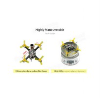 (Gold Product) Kingkong FLY EGG 100 100mm F3 10A 4in1 Blheli_S 25/100mW 16CH 800TVL