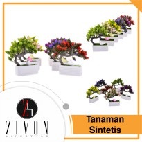 Tanaman Sintetis Palsu Bonsai Synthetic Fake Flower Plant YZB8
