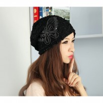 LIMITED Sweet Lace Beanie Hat | Topi - ZH765