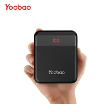 Yoobao Power Bank Dual Input USB Type C + Micro USB 10000mAh - S10Q - Black