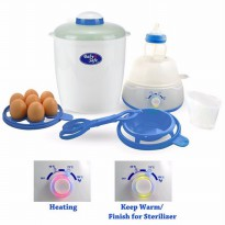 [Limited] Baby Safe Sterilizer Multifunction with LED/Steril multi fungsi baby