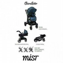(Sale) stroller Cocolatte CL T80AN - Mist Dark Grey and Black