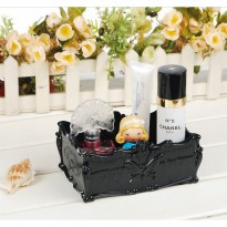 [Ready] Anna sui jewelery small square perhiasan look a like kosmetik storage