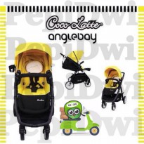 (Star Product) stroller cocolatte anglebay angelbay exclusive yellow kuning