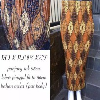 SB Collection Rok Plisket Fathin Maxi Panjang Jumbo Batik Wanita