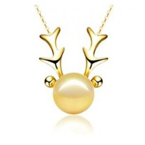 Kalung Gold December Deer