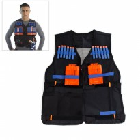 kids elite tactical vest for nerf / rompi nerf anak