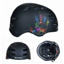 Helm BMX Moon Black Not Fox GUB Giro Polygon United Mexel Giant Bell