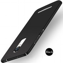Plastic Matte Hardcase for Xiaomi Redmi Note 3 - Black