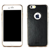 Remax Beck Series Leather Case for iPhone 7/8 - Black