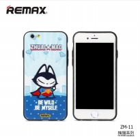 Remax Cat Cartoon Protective Hard Case for iPhone 6/6s - Model 5