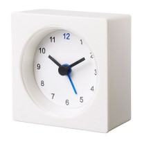 IKEA (R) - VACKIS Jam Beker Modern Travel Alarm Clock Battery Operated