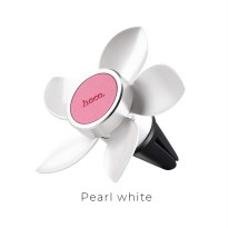 Hoco Easy Move Magnetic Air Vent Car Holder Smartphone - CA33 - Pearl White