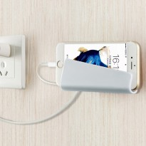 Wall Smartphone Holder Dinding - White