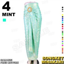 Rok LILIT instan Batik Songket MINAKARI B112-4 include Ring Belt