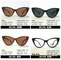 KACAMATA FASHION DEWASA CAT EYES FRAME