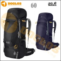 Jack Wolfskin HIGHLAND TRAIL XT 60 Tas gunung Carrier jws Hiking Black