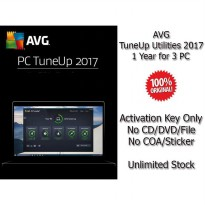 AVG TuneUp Utilities 2017 - 1 Year for 3 PC - Genuine