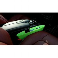 HIJAU colourfull catch caddy car set organizer pocket gatget dompet