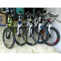 SEPEDA GUNUNG MTB 26' NEW ODESSY ALLOY FREE ONGKIR