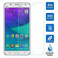 Anti Gores Kaca Tempered Glass Samsung A7 2017 Clear Bening High Quality