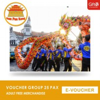 Sam Poo Kong - Voucher Group 25 Pax Adult Free Merchandise