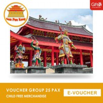 Sam Poo Kong - Voucher Group 25 Pax Child Free Merchandise