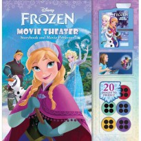 [HelloPandaBooks] Disney Frozen Movie Theater Storybook & Movie Projector (20 Images to Project)