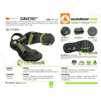Sandal Gunung / Trakking / Hiking OUTDOOR PRO - SAVERO MXT